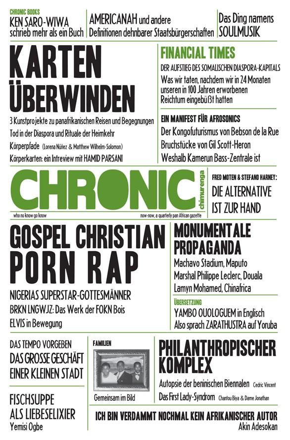 CHIMURENGA CHRONIC - GERMAN [5] - COVER