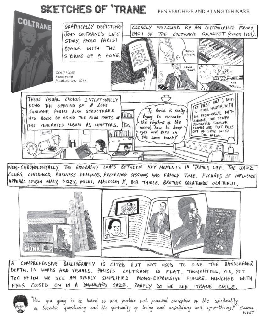 Coltrane comic review - ben v and atang