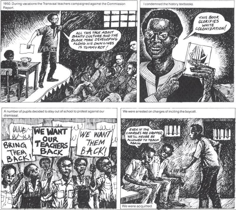Mogorosi Motshumi - excerpt from Down Second Avenue, Upbeat magazine