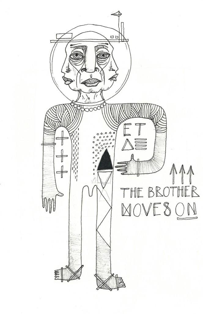 Nolan Oswald Dennis - The Brother Moves On - ETA sketch