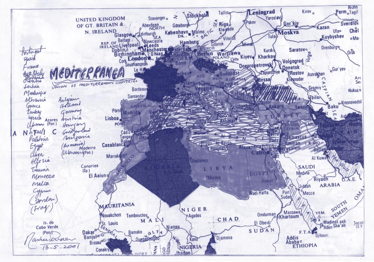 Rasheed Araeen - Mediterranea 1