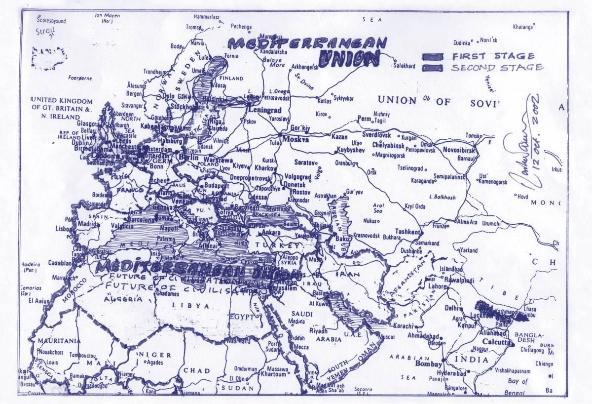 Rasheed Araeen - Mediterranea 2