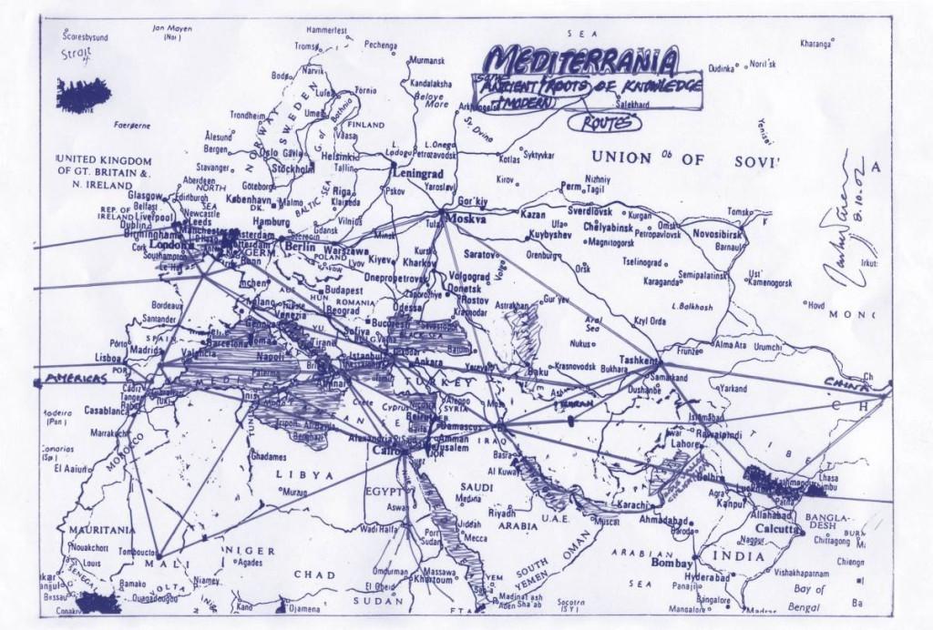 Rasheed Araeen - Mediterranea - Routes