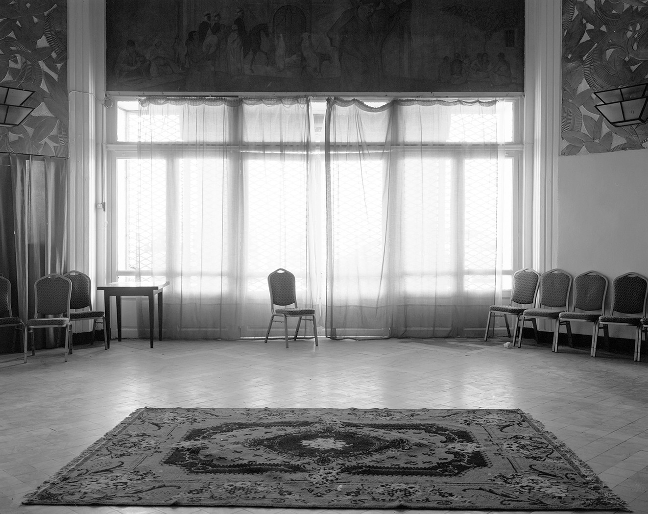 Foreign Office, Chromogenic C-Prints, Bouchra Khalili, 2015. Hôtel El Safir, Ex-Aletti, Algiers City Center, Residence of the Black Panther Party delegation duringthe 1969, Pan-African Festival of Algiers;