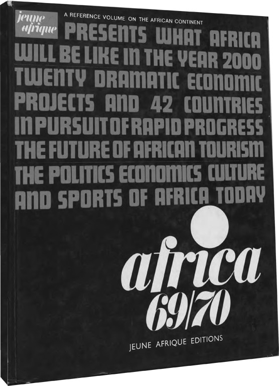 "1968-71 ""Africa"" reference volumes published by Jeune Afrique"