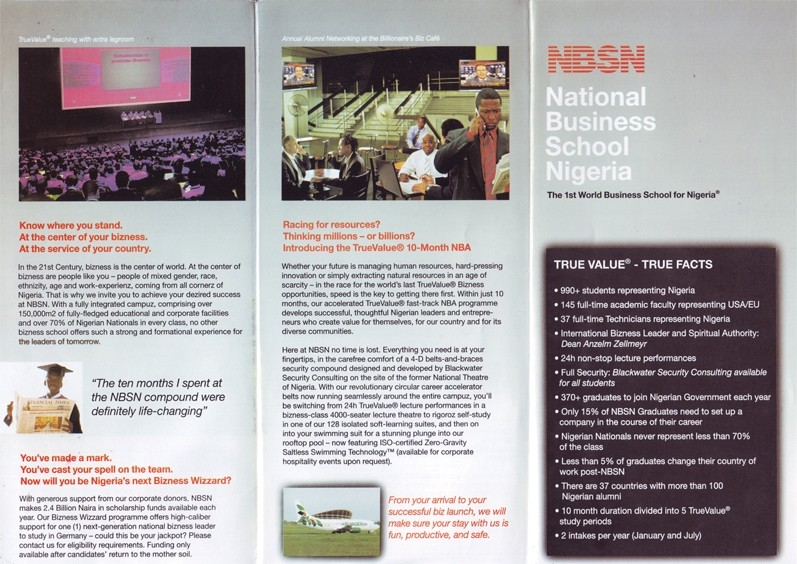 NT - National Business Scool of Nigeria - Inner copy