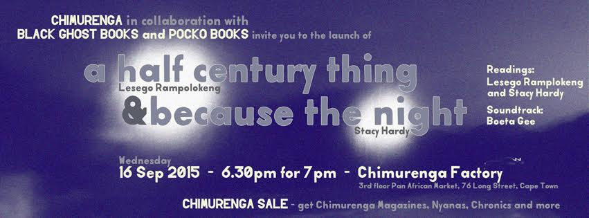 16 Sept book launch flyer